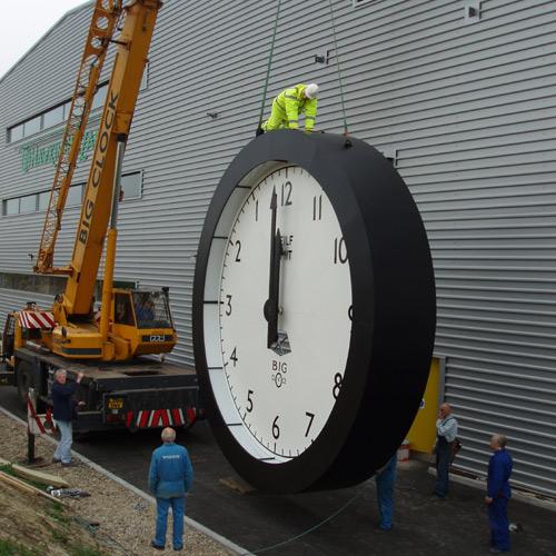 Big Clock Andy Plant