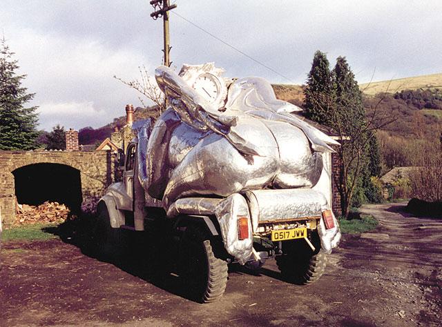 Angel truck rear