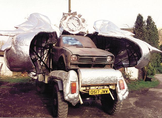 Angel truck open
